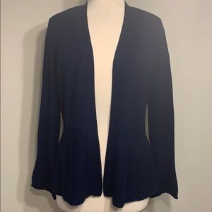 Charter Club Luxury 100% cashmere blue cardigan